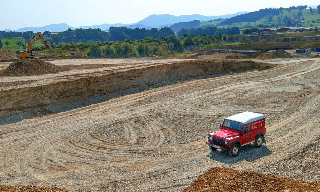 Vermessung Loschnigg – Ihr Spezialist für Bergbau, Materialgewinnung und Deponiebetriebe